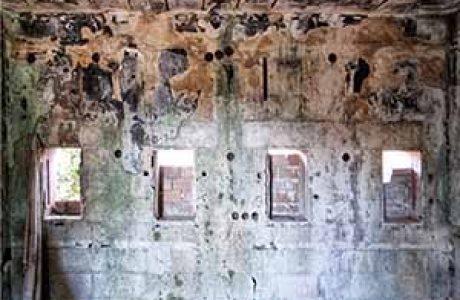 הכניסה והקופות במתחם התערוכות, ליד צומת בית דגן
