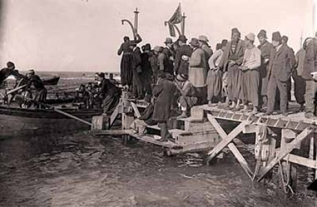 תכנית סיור לתיירים בפלשתינה ובראשון ב1911