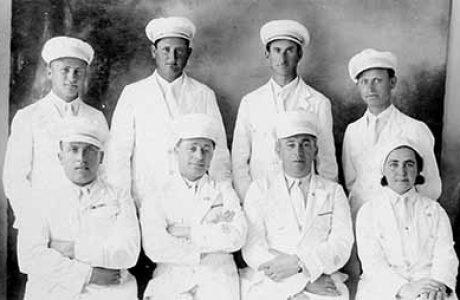 משלחת ראשון למכביה הראשונה 1932