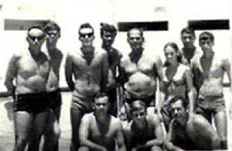 בריכת השחיה בצריפין